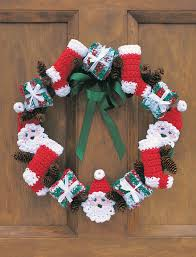 merry christmas wreath patterns yarnspirations