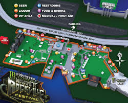 Everbank Field Map Monster Energy U0027s Welcome To Rockville On Tour Monthly