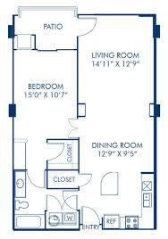 studio 1 2 3 bedroom apartments in charlotte nc camden blueprint of the nobhill floor plan 1 bedroom and 1 bathroom at camden grandview apartments