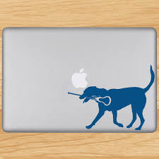 Removable by Girls Lacrosse Removable Lulagraphix Laptop Decal Lula The Lax Dog