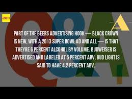 Alcohol In Bud Light What Is The Alcohol Content In A Bud Light Youtube