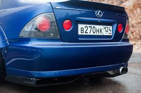 lexus is300 blue spoiler for lexus is300