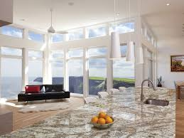 decorating modern pendant lighting with glass wall also cambria