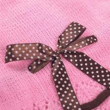 pink polka dot ribbon polka dot ribbon sweater dress