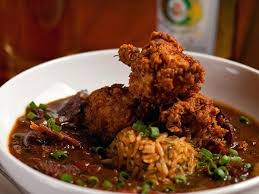 recette cuisine plus cuisine plus toulouse crispy fried chicken and andouille gumbo