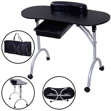 nail table ventilation systems furniture folding manicure table with manicure table also manicure