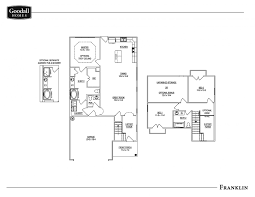 the franklin floor plans goodall homes