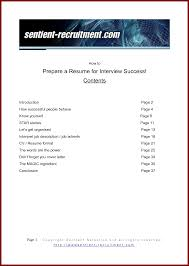 Job Winning Resume by How To Prepare A Resume Resume For Your Job Application