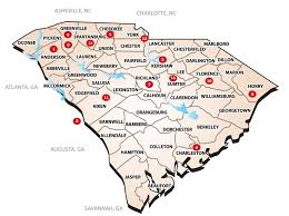 Map Of Beaufort Sc South Carolina Numismatic Association Official Site Of The Scna