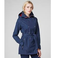helly hansen women s welsey trench coat sports outdoors