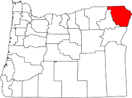 oregon county map file map of oregon highlighting wallowa county svg wikimedia commons