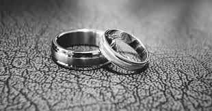 metal fashion rings images Titanium vs stainless steel rings which is better jpg