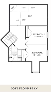 thornbury muirfield with loft masters collection floor plans