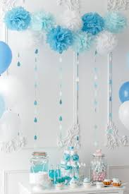 Blue Baby Shower Decorations 9 Best Blue Baby Shower Decorations For Boy Cloud Blue Paper