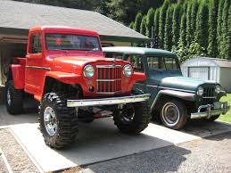 willys jeep truck for sale isuzu 4he1 tc engine swap into 1949 willys pickup archive