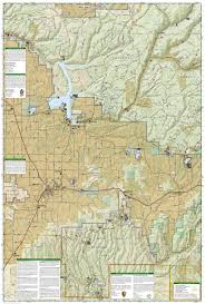 Colorado National Monument Map by Durango Cortez National Geographic Trails Illustrated Map
