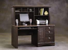Sauder Harbor View Computer Desk With Hutch Antiqued White Attractive Sauder Harbor View Computer Desk With Hutch Antiqued