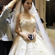 wedding dress korean top wedding dress 2018 new wedding korean version of the wedding
