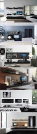 living ultra modern design living room modern tv open shelves