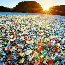 California travel bottles images Best 25 glass beach california ideas fort bragg jpg