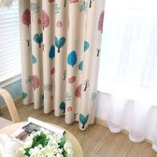 Rainbow Curtains Childrens Rainbow Multi Color Blackout Striped Curtains For Bedroom