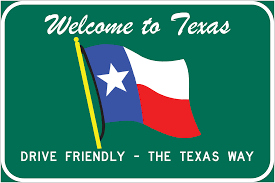 Welcome Flag Sign Guidelines And Applications Manual Welcome To Texas Signs