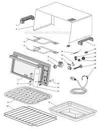 Kitchenaid Toaster Oven Parts List Delonghi Eo420 Parts List And Diagram Ereplacementparts Com