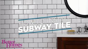 subway tile images how to install subway tile youtube