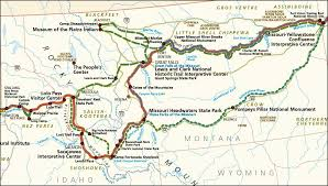 missouri breaks map sacagawea and lewis and clark map and lewis and clark map lewis
