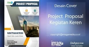 contoh desain proposal keren desain cover proposal kegiatan keren imago media
