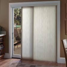 Patio Door Vertical Blinds Vertical Honeycomb Shades For Sliding Glass Doors Home