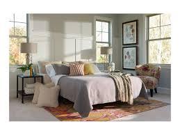 La Z Boy Bedroom Furniture by La Z Boy Amy Casual Supreme Comfort Queen Sleeper Sofa With