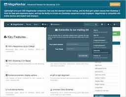 menu templates for bootstrap 17 best html5 css3 jquery dropdown menus free premium templates