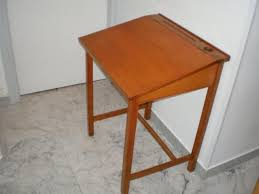 bureau ecolier 1 place a saisir pupitre ecolier avec encrier chaise 06000
