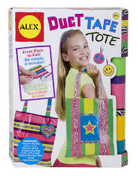 amazon com alex toys do it yourself wear duct tape tote toys u0026 games