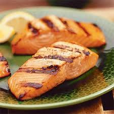 Notes: The grilled salmon at