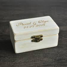 box personalized wedding ring box wooded ring bearer box personalized ring box