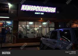 ken u0027s dollhouse beauty bar stock photo u0026 stock images bigstock