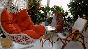 Rocking Chair Png Red Rocking Chair In Luxury Apartment Interior Showcase Of