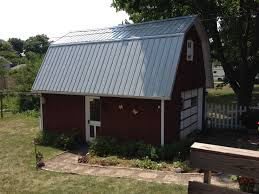 Hip Roof Barn by Pro Rib Steel U2013 Gambrel Roof Barn U2013 Edgerton Ohio Jeremykrill Com