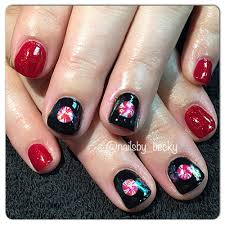 tutorial nail art foil art tutorial foil peppermint candy nails