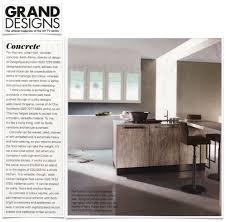 concrete in the kitchen neil lerner designs