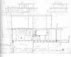 100 usonian floor plans frank lloyd wright freeman house