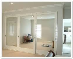 outstanding mirror sliding closet door hardware 23 in decor