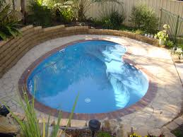 Small Pool Backyard Ideas by Macarthur Plunge Pool Take Advantage Of The Compact Pool Design