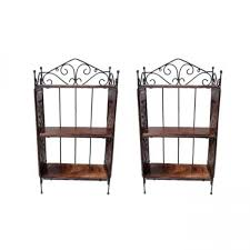 onlineshoppee home decor 3 shelf rack set of 2 home decor onlineshoppee home decor 3 shelf rack set of 2