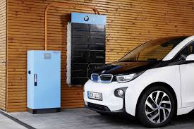 bmw battery car bmw electric car batteries to be used as home energy storage devices