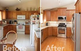 Kitchen Remodel Before After by Minneapolis Remodeling 90s Kitchen Makeover In Savage