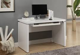 White L Desk by Amazon Com Monarch Computer Desk 48 Inch White Kitchen U0026 Dining