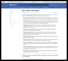 facebook will now teach you how to spot fake news business insider